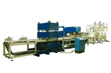 HF production line for filter bags