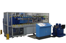 Fully automatic HF creasing machine for transparent packaging