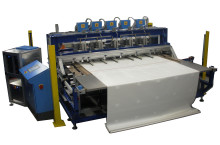 automatic HF welding line for tarpaulins
