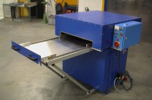 HF welding machine with enlarged tray system 7kW-10kN