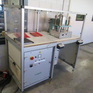 Hand-operated 4kW HF welding machine Colpitt