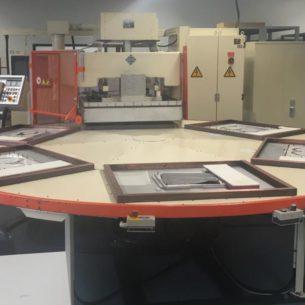 6-stations HF lasmachine Kiefel KHH4 – G12000Sc